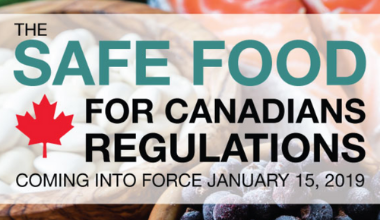 safe food for canadians regulation